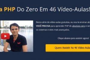 curso de php online gratis aprender a programar do zero passo a passo iniciante